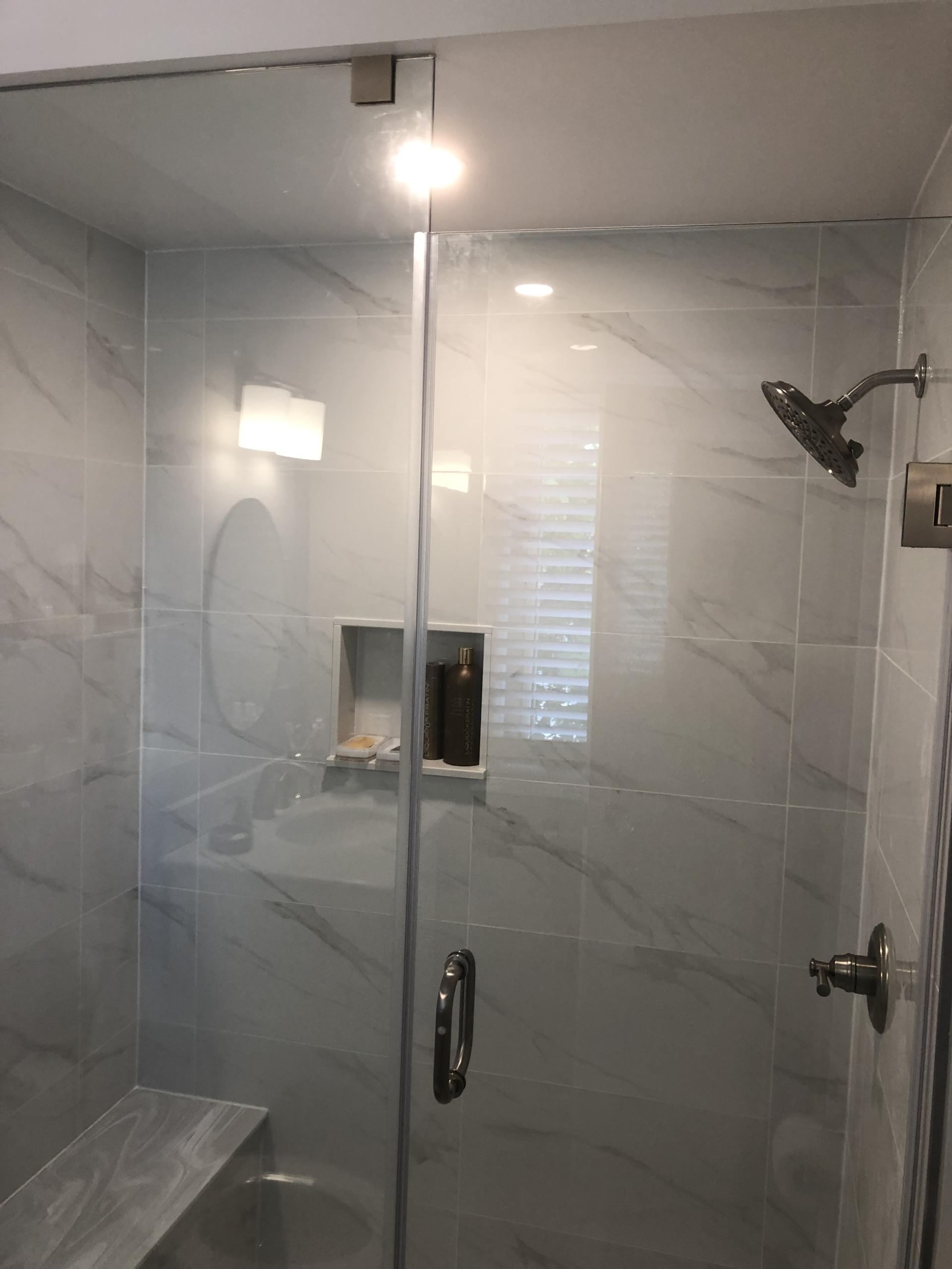 Bathroom Refacing – White/Grey(3)